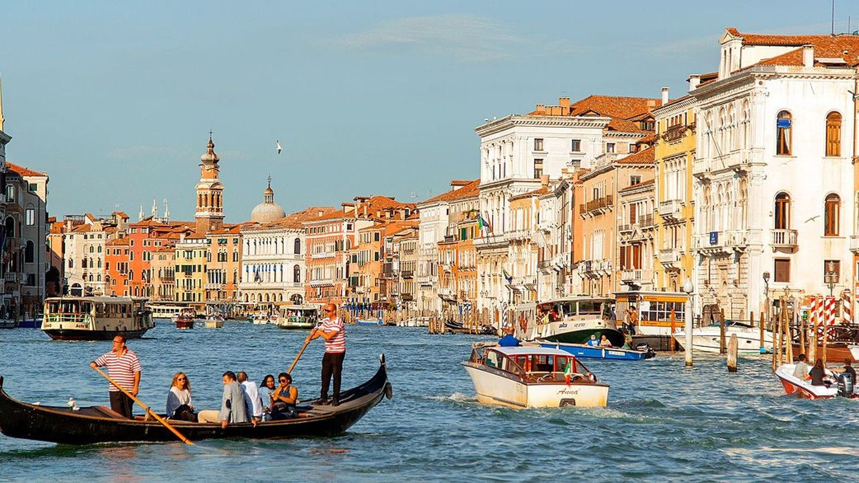 A sailing trip to the Architecture Biennale 2021, Venice