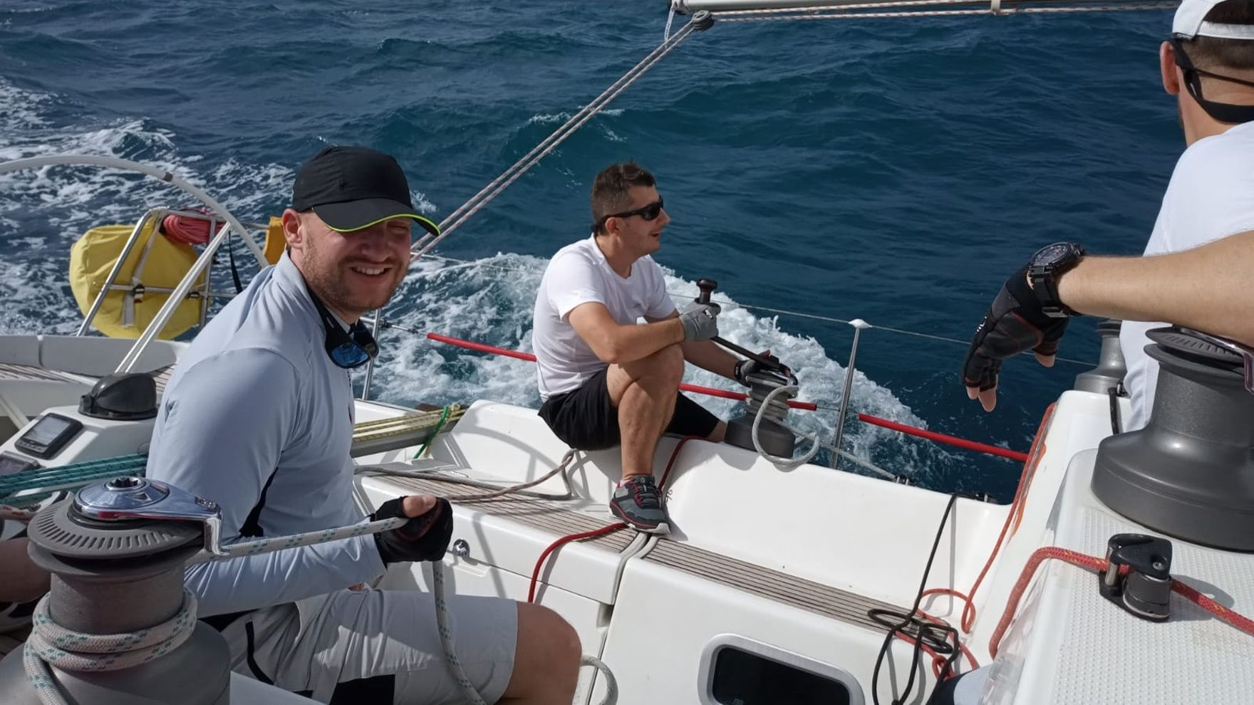 Yacht charter with a skipper