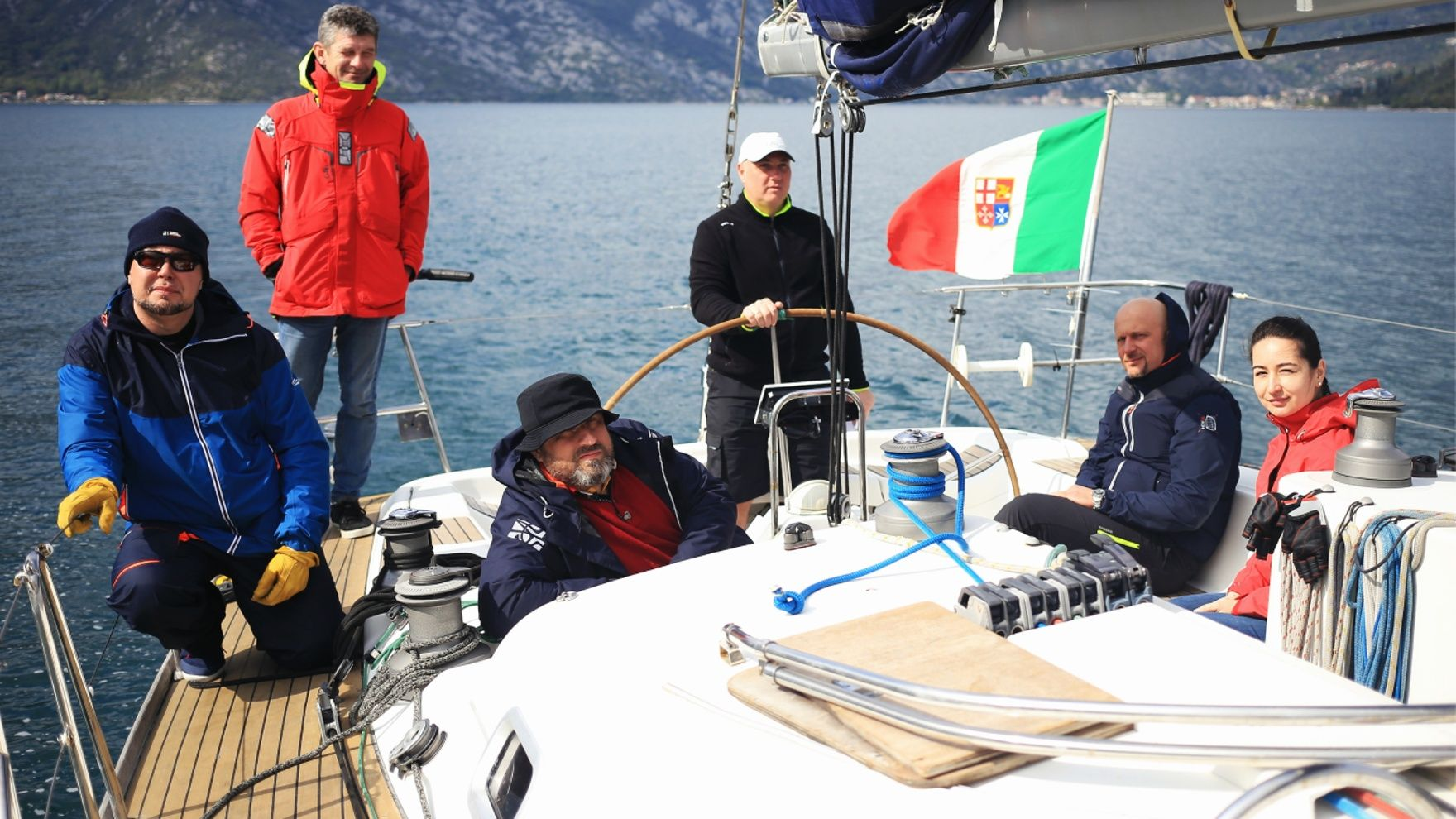 Bareboat Skipper Sail IYT practice in Turkey