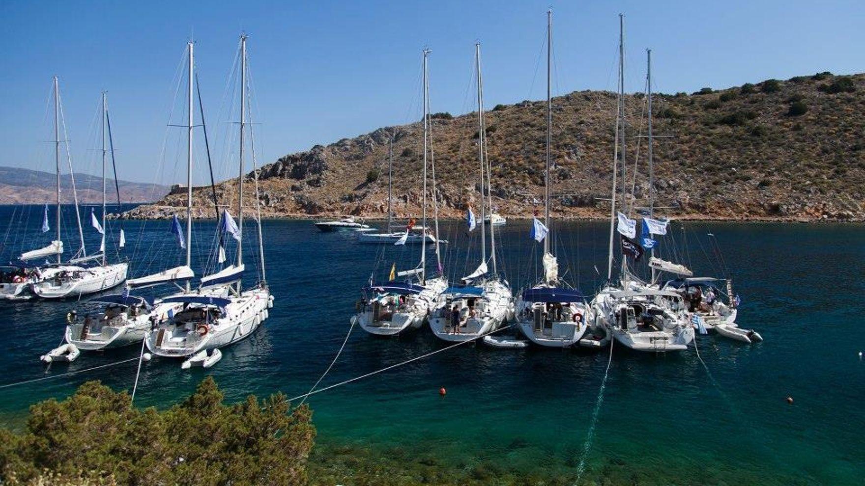 Большая регата в Греции