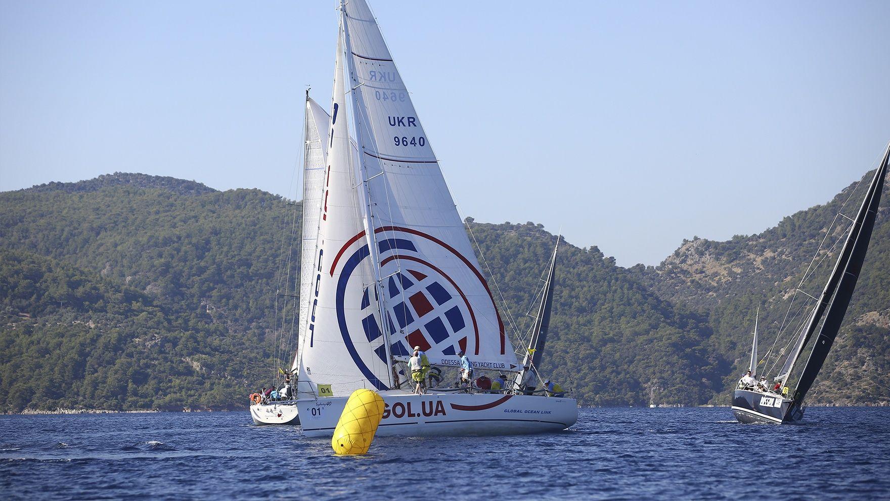 Children's regatta, Turkey