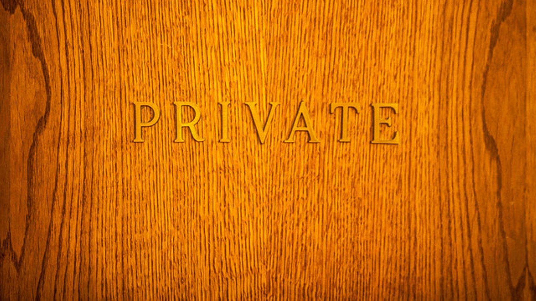 create event private