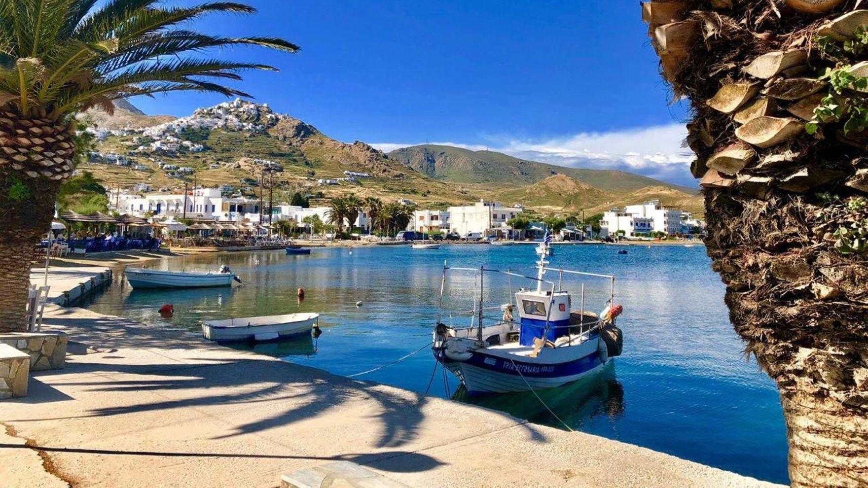 Прогулки по греческим островам