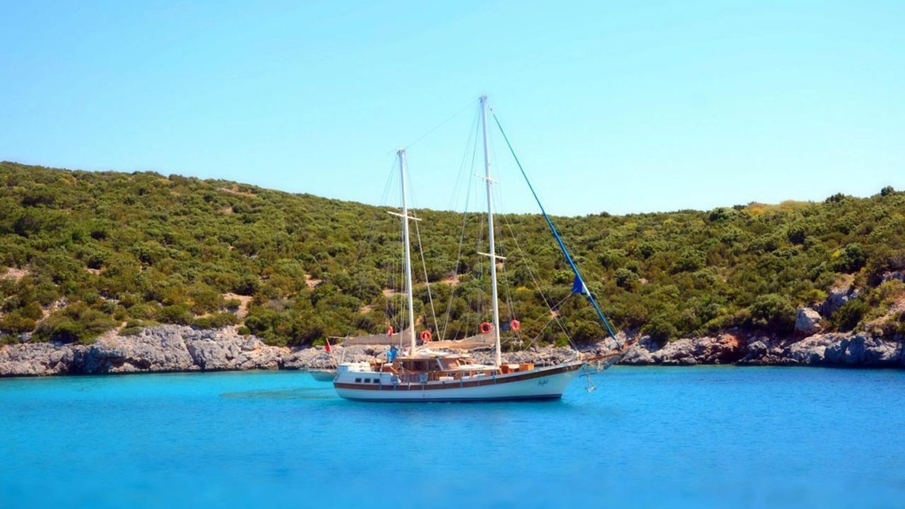 Day sailing in Bodrum