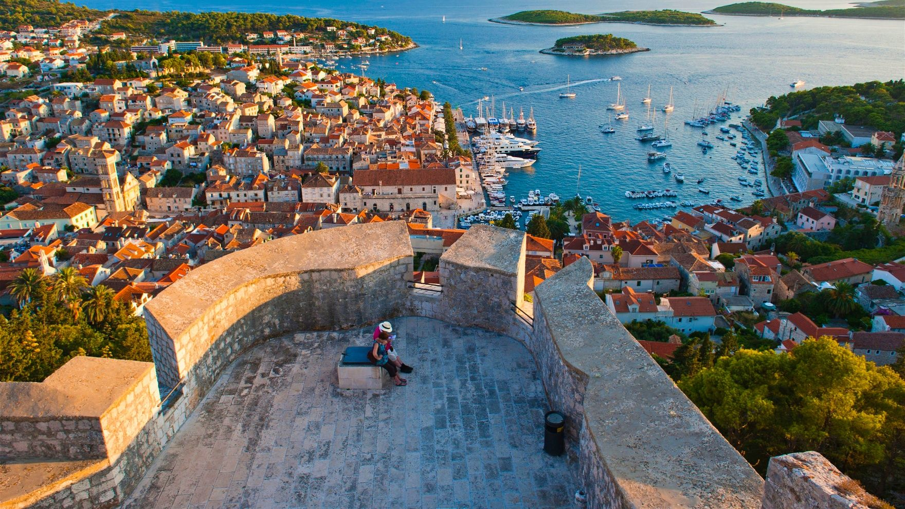 Хорватия, август в Адриатике