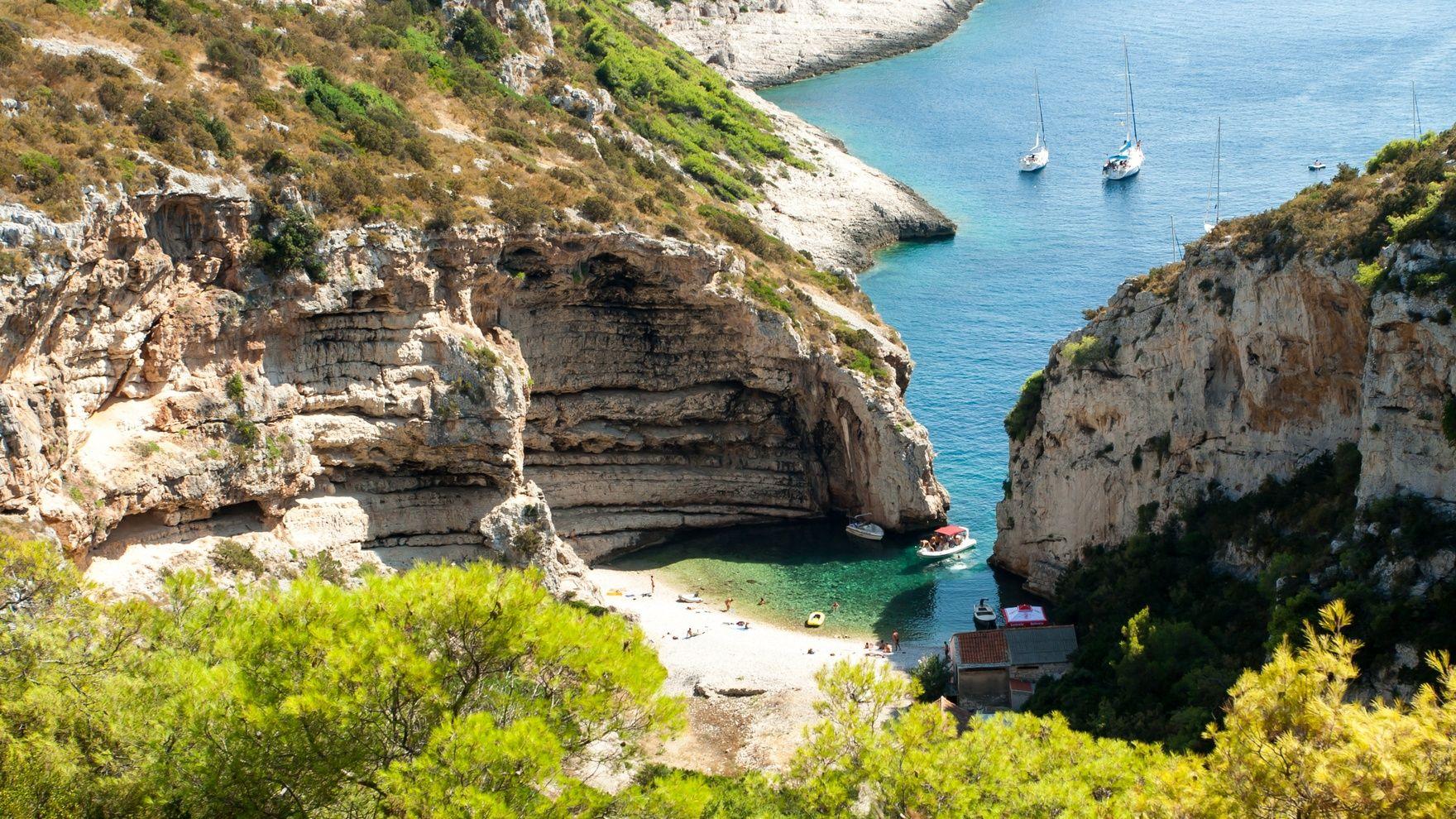 Croatia, August in the Adriatic
