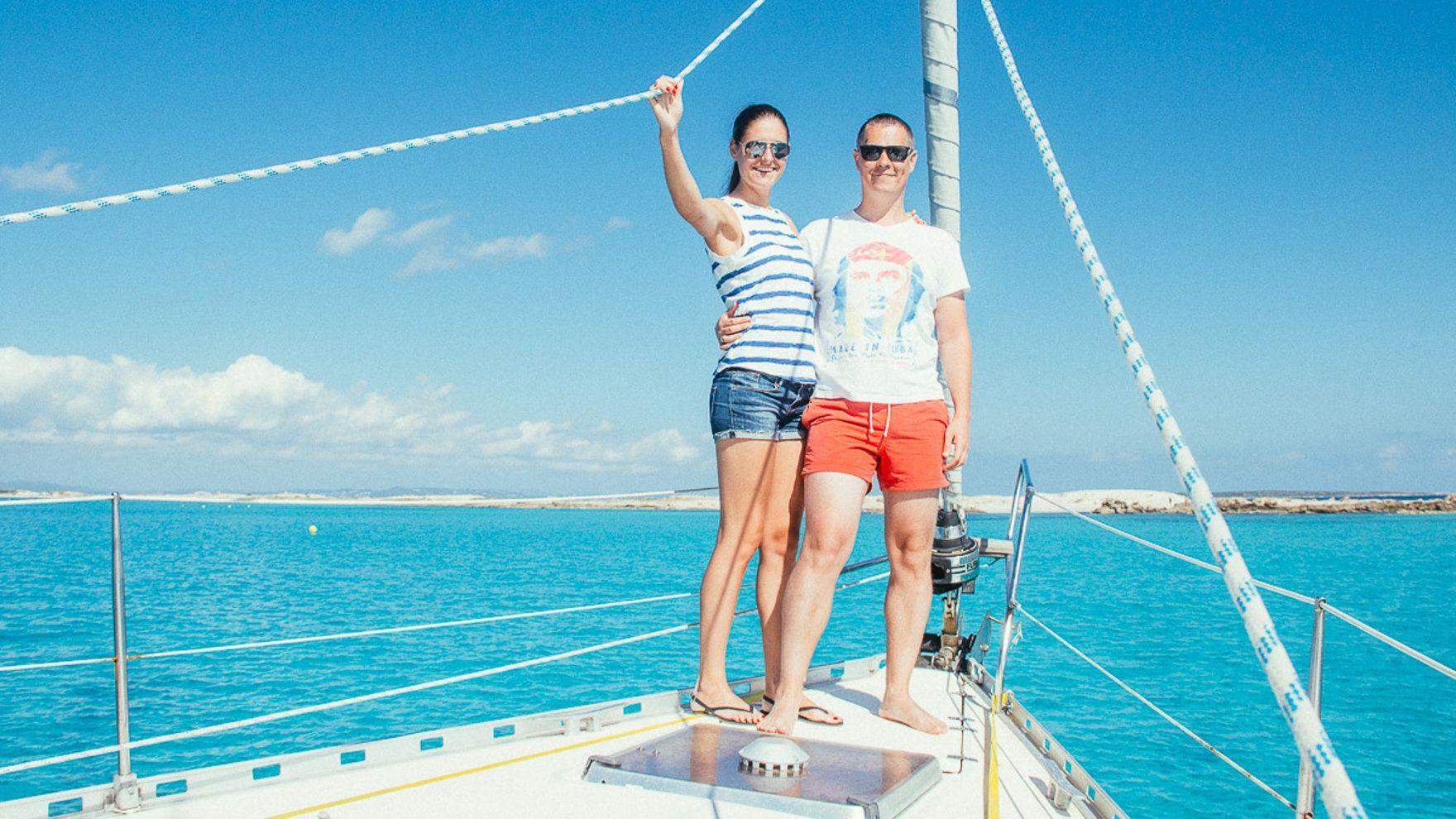 Ibiza and Formentera on a luxury catamaran