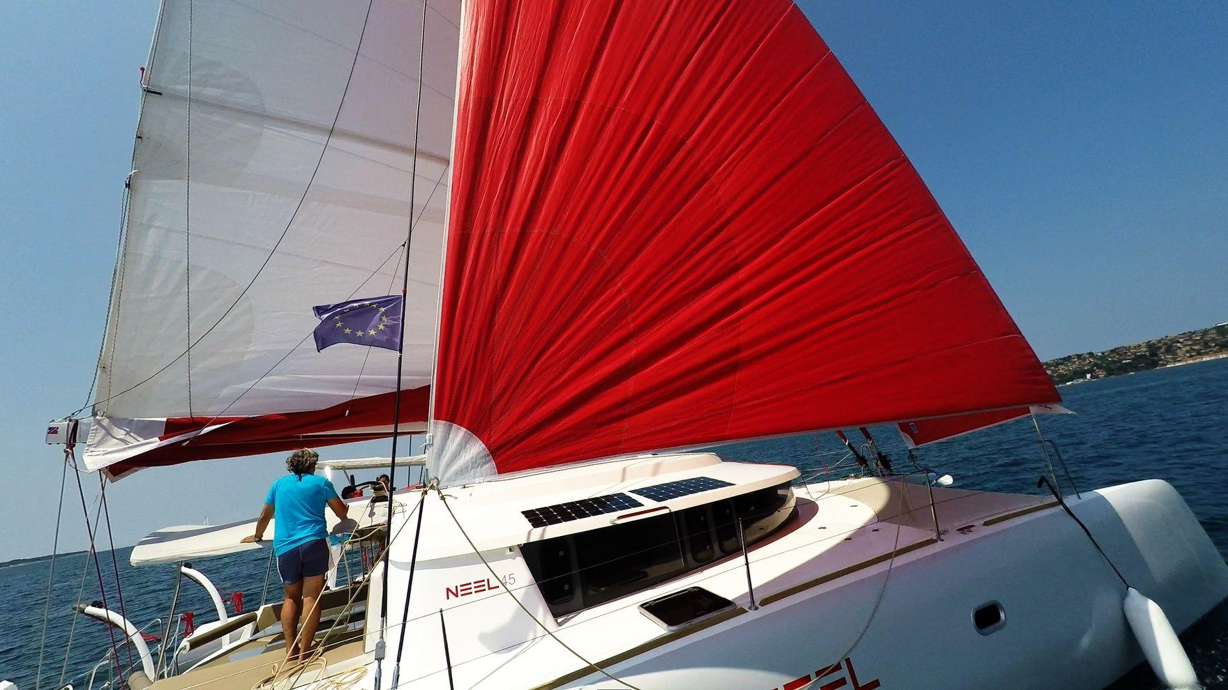 Практика International Bareboat Skipper IYT в Турции
