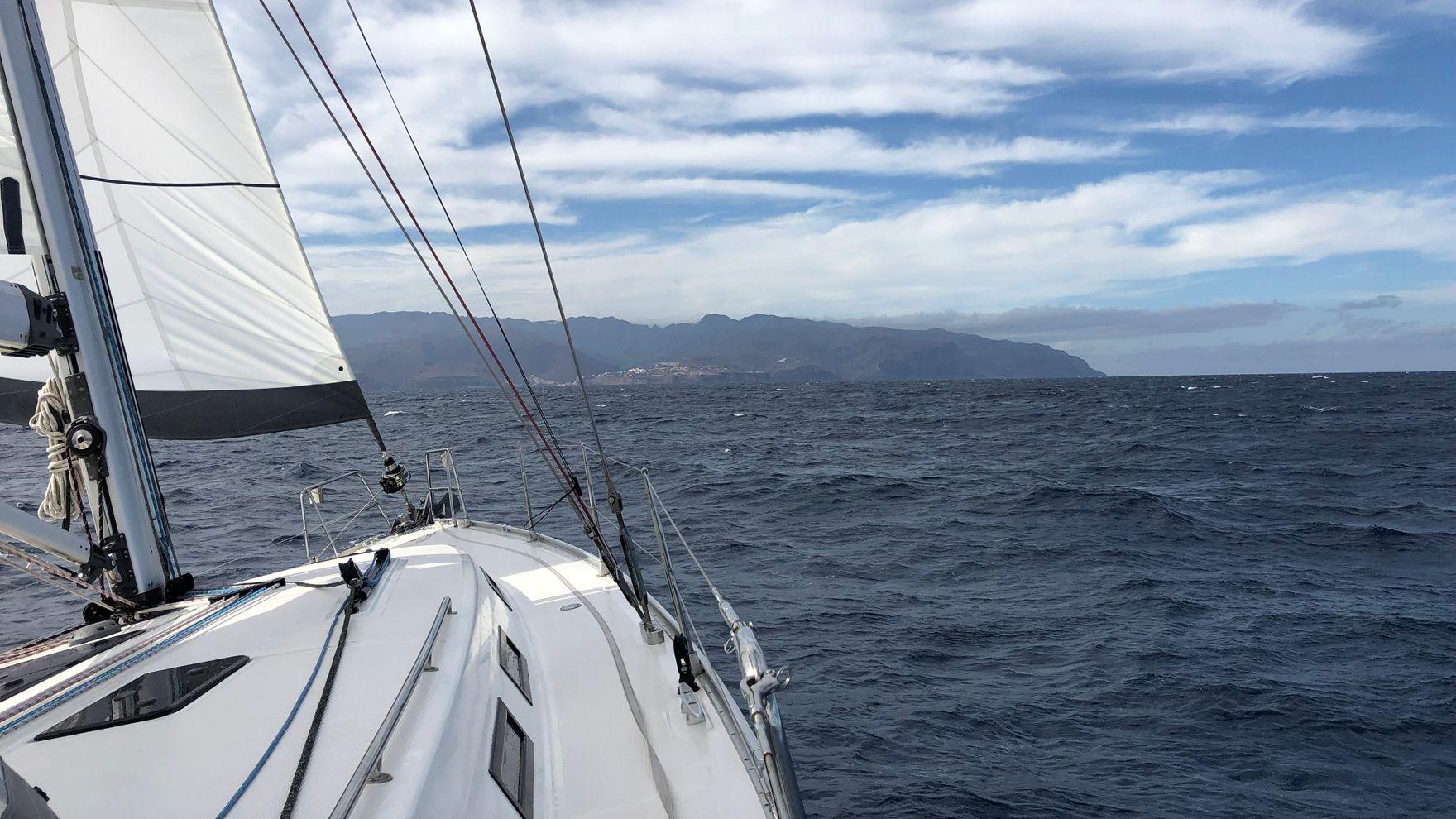 Canaries, 3 islands in 10 days: Tenerife — La Gomera — La Palma — Tenerife. 240 nm