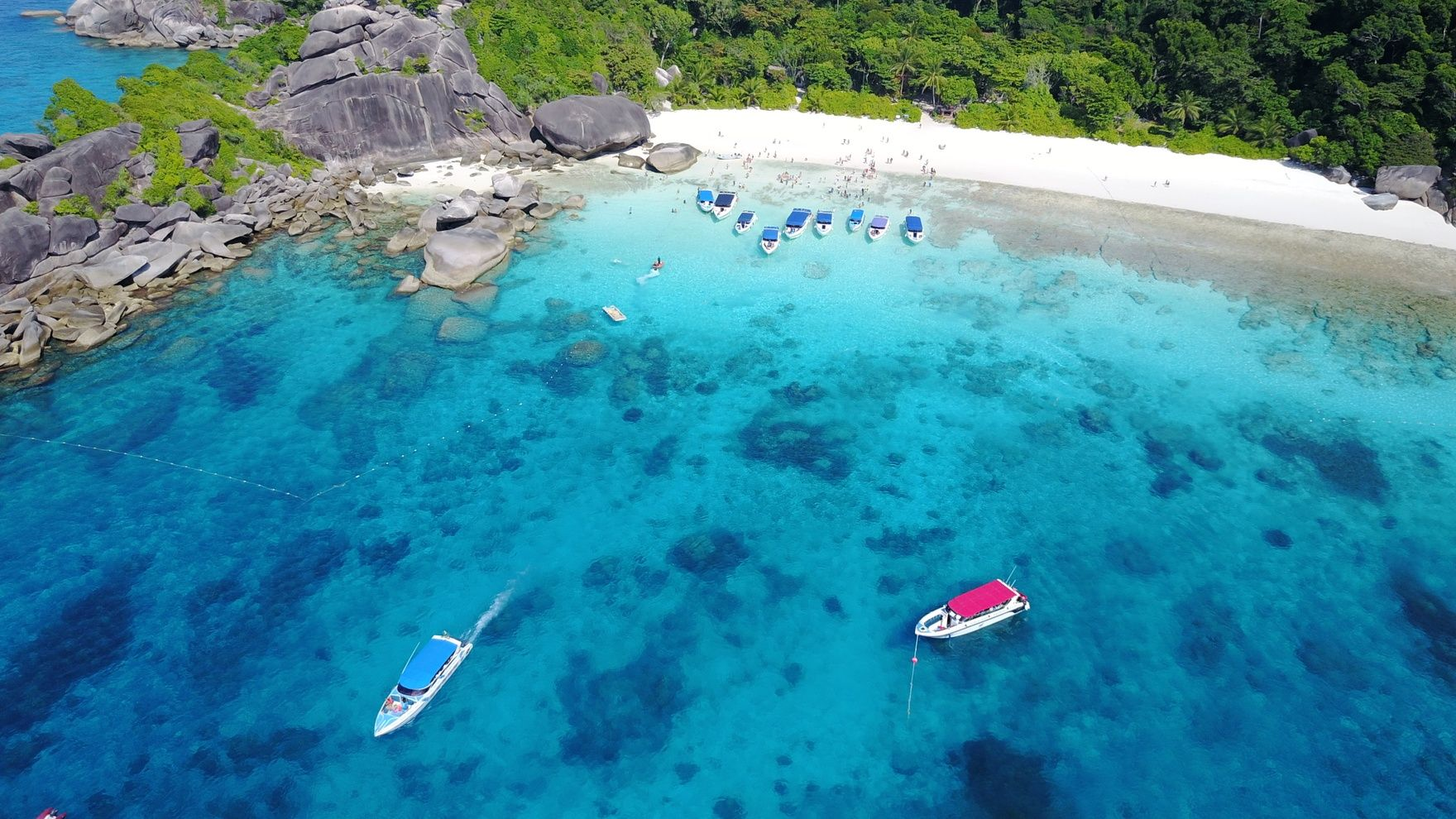 Thailand Islands vacation cruise