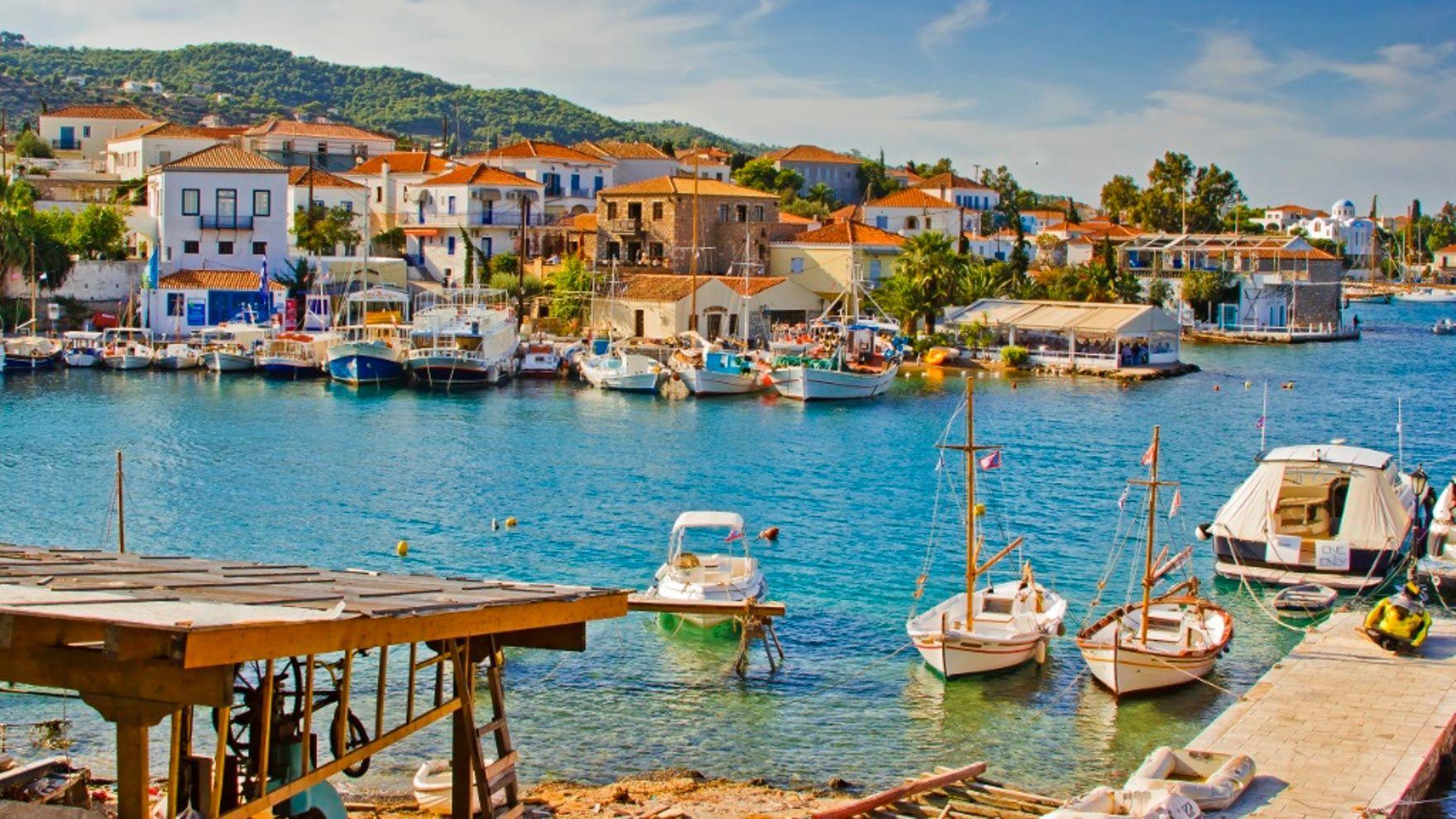 The Greek islands cruise