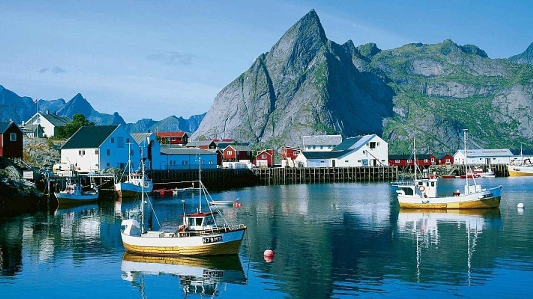 The Lofoten Islands cruise in Norway