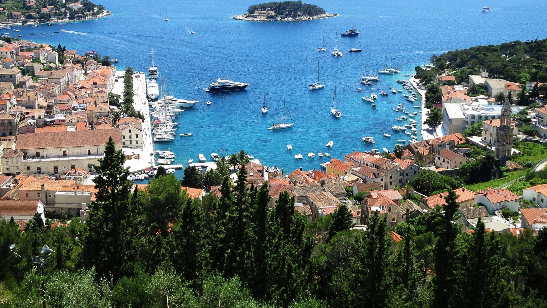 Croatia cruise: Split and the islands