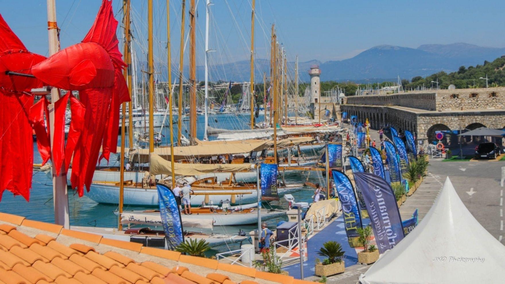 Les Voiles d'Antibes 2021 regatta