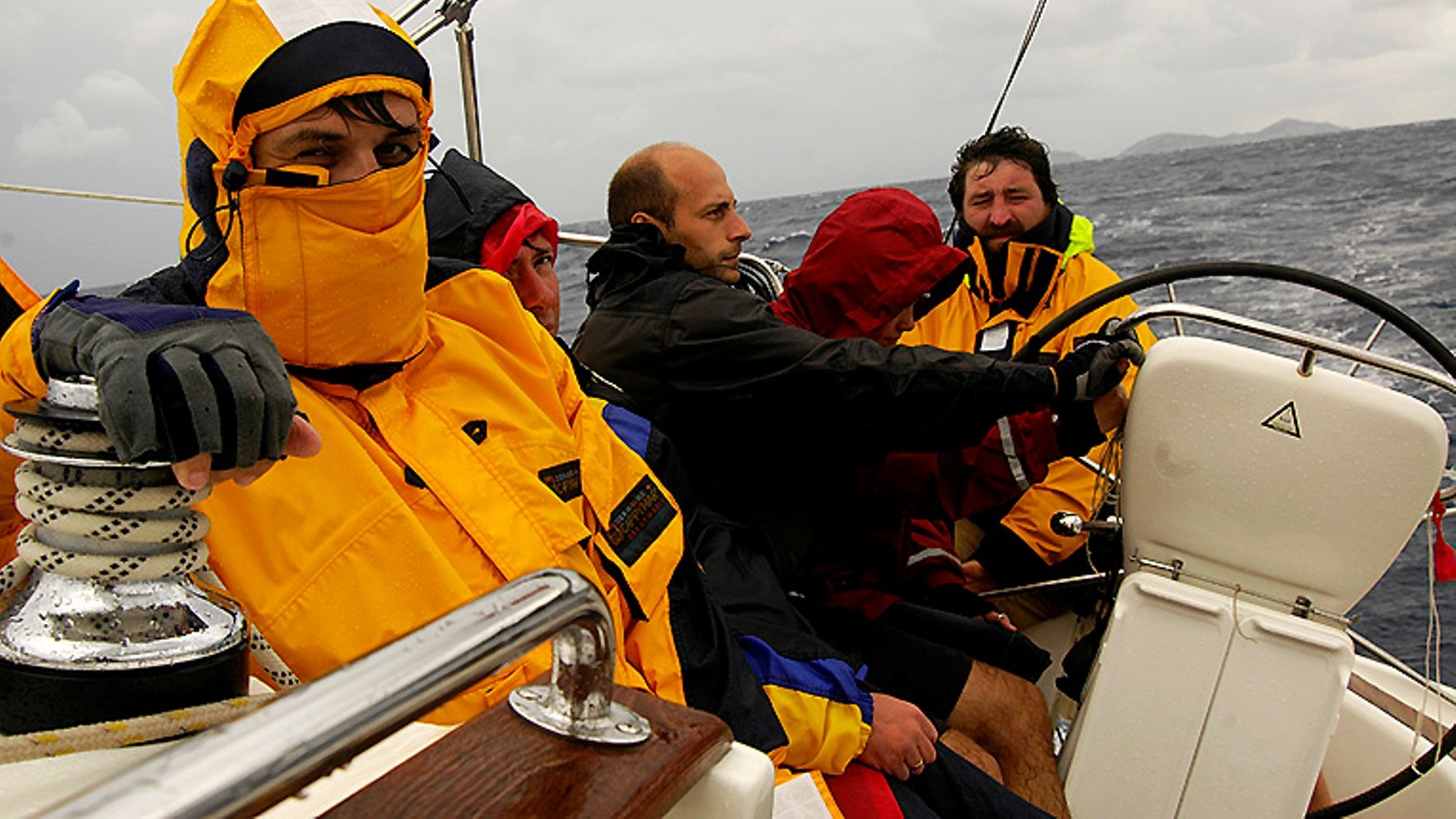 IYT Bareboat Captain sailing practice