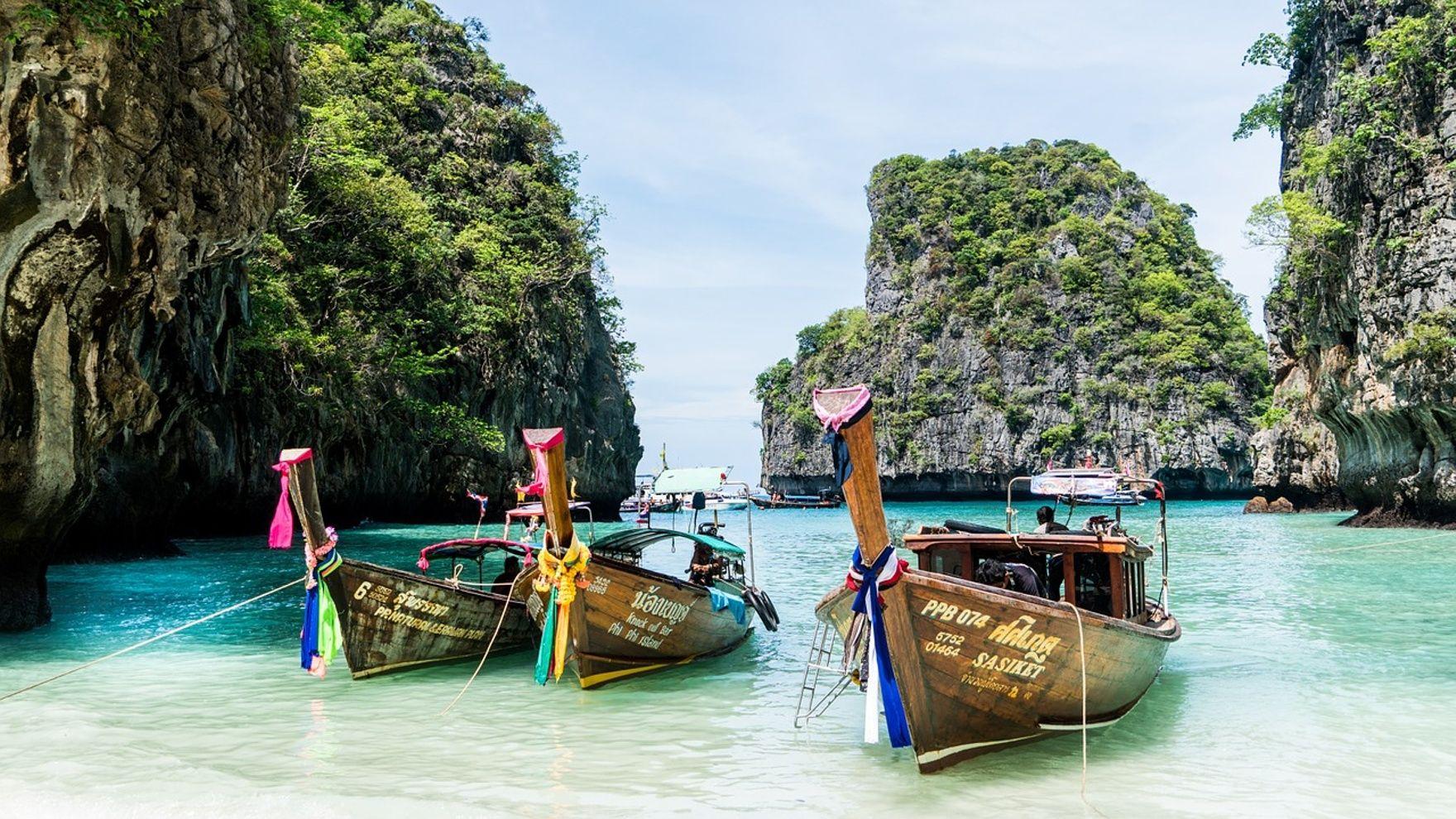 Новогодняя регата в Таиланде