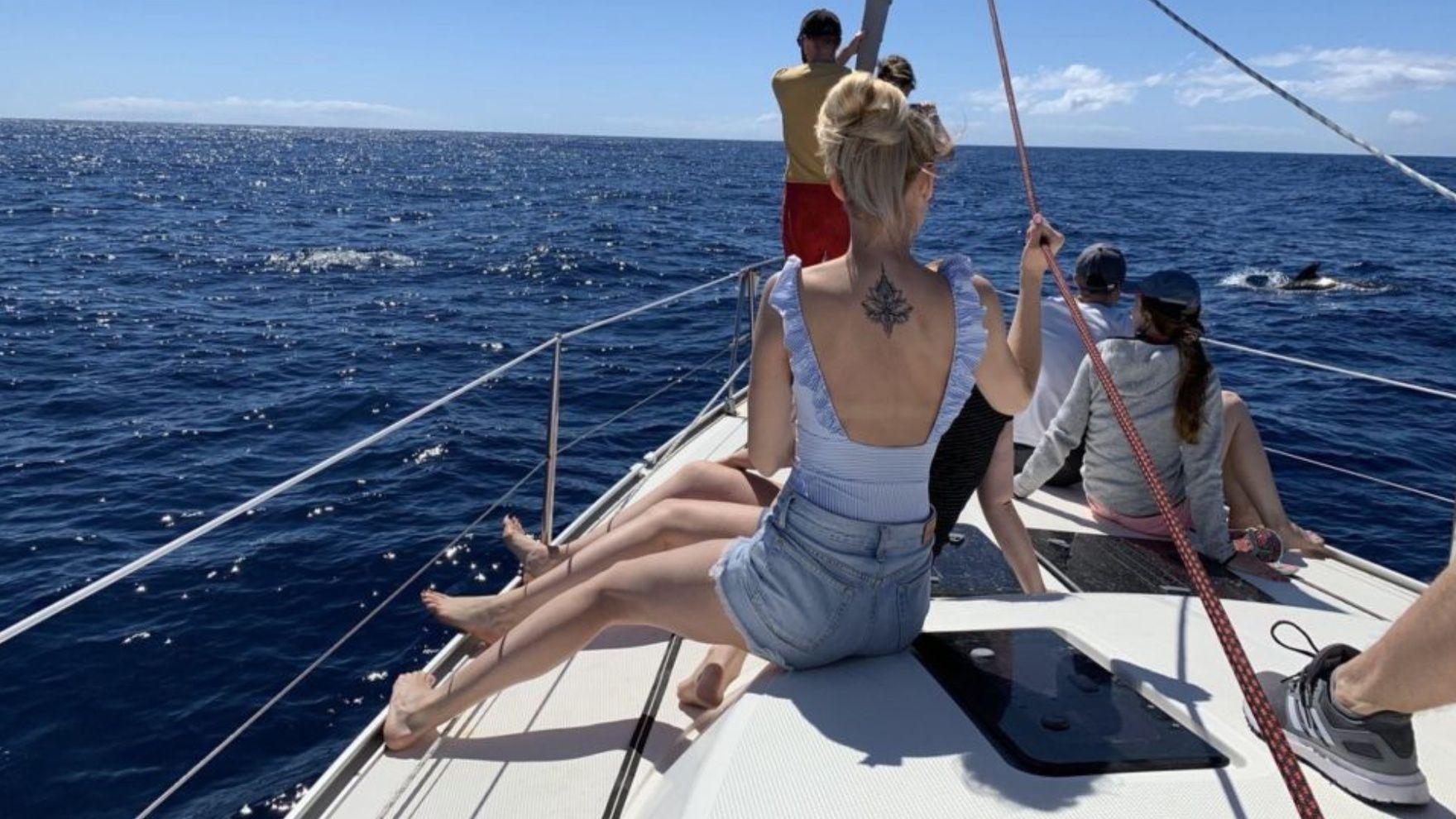 Новогодний яхтинг на Тенерифе 2020