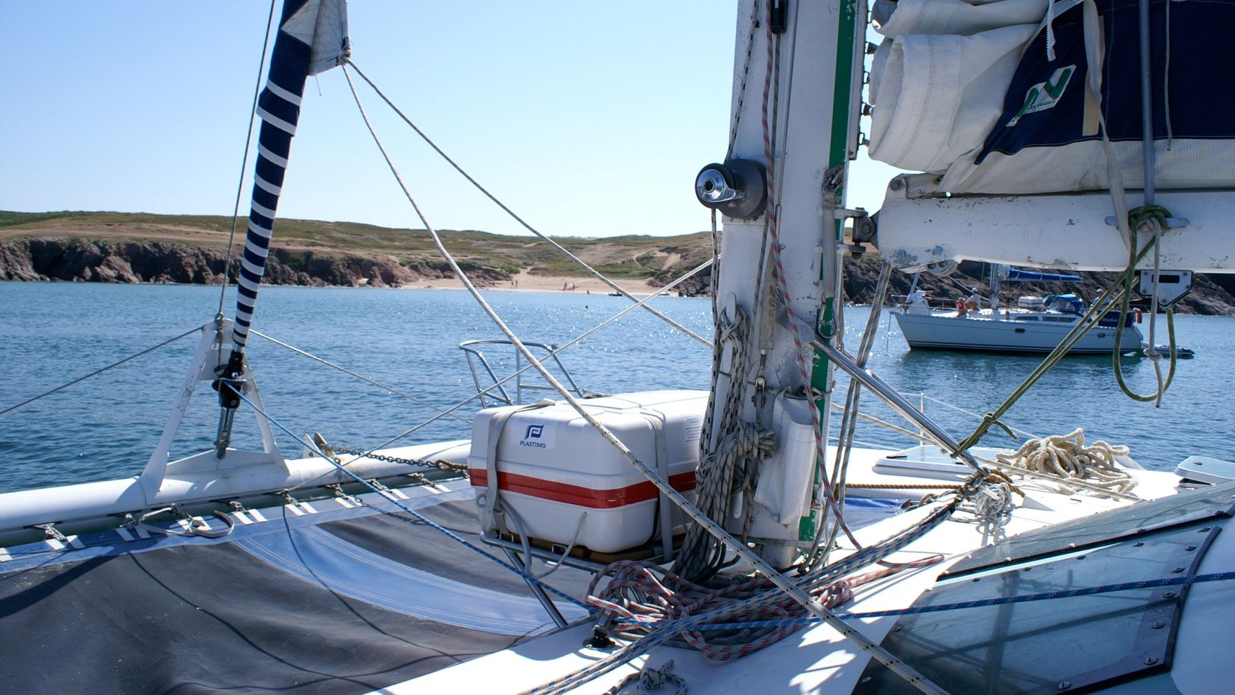 Learning yachting - from beginner to skipper