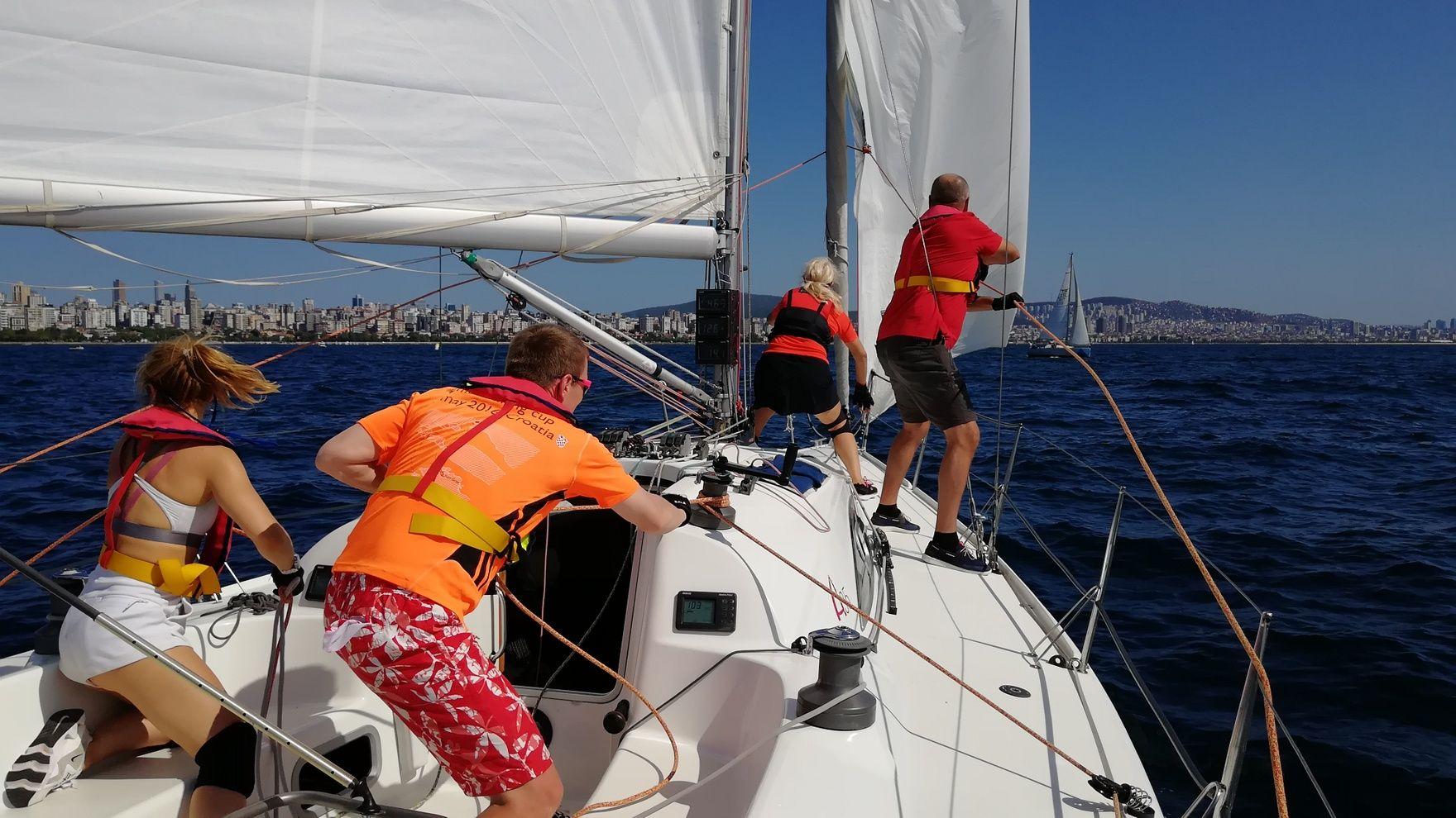 Offshore Racing Training 500 миль из Стамбула в Мармарис
