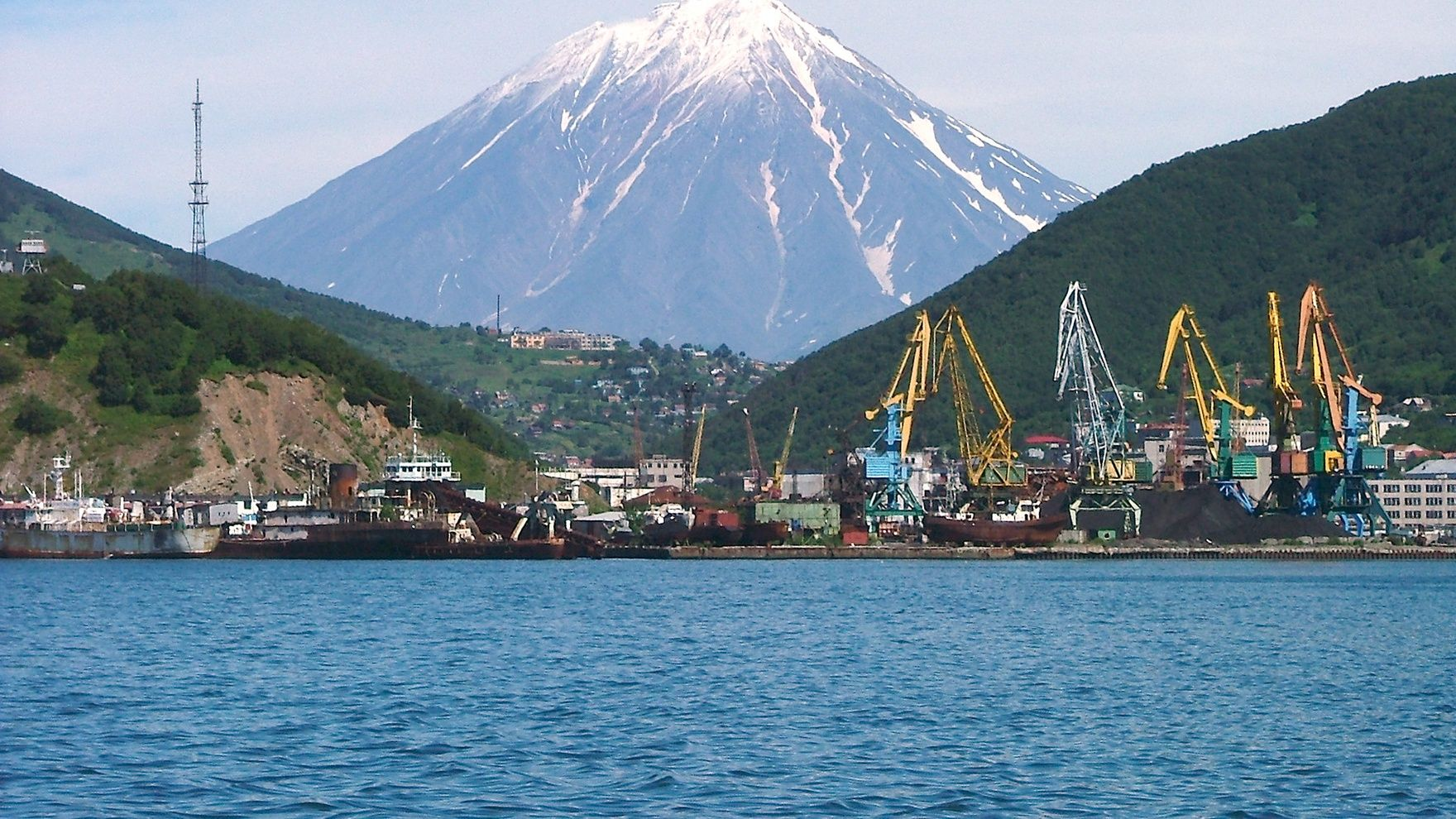 Sailing expedition to Kamchatka