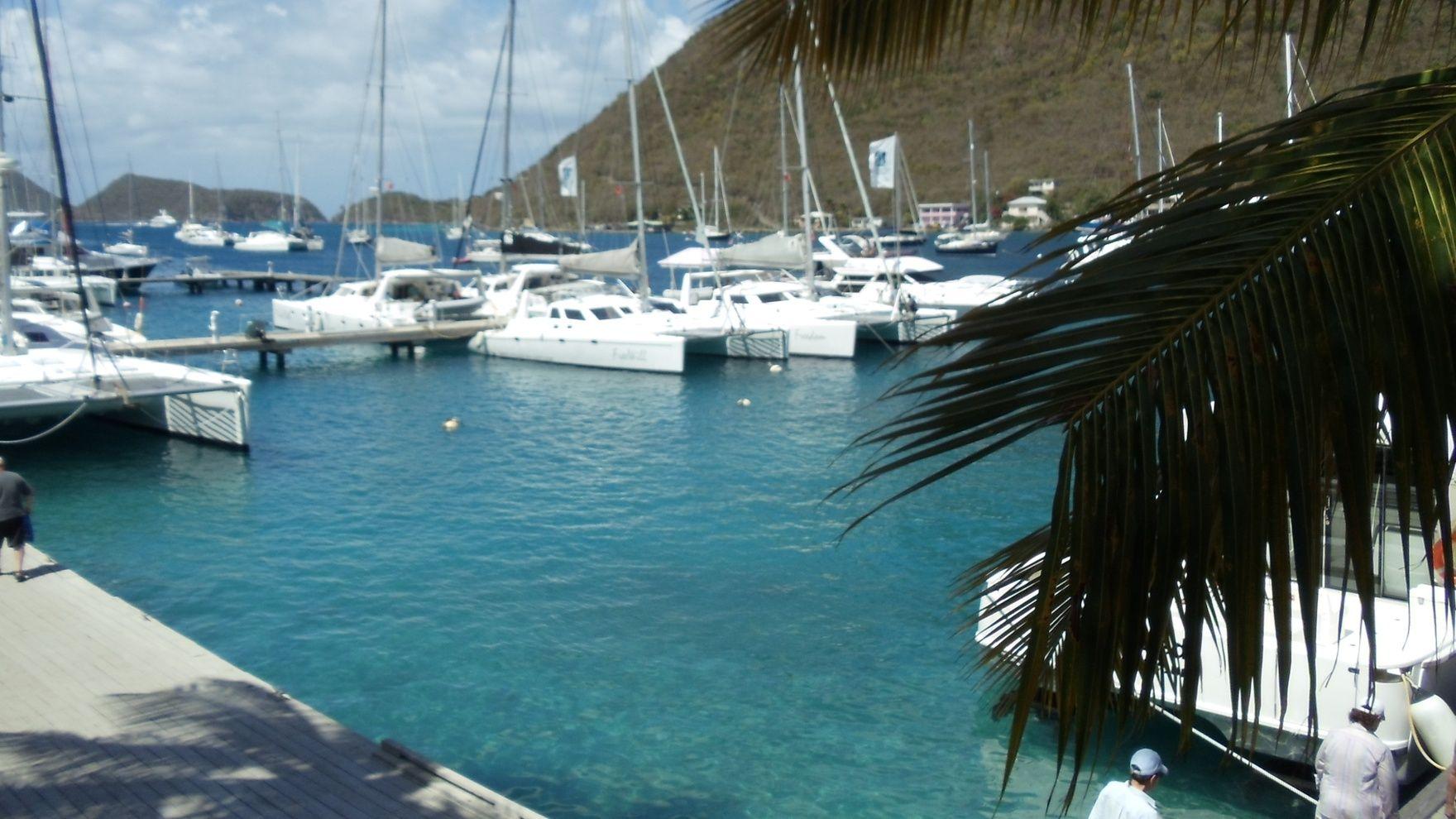 Парусная флотилия на Карибах