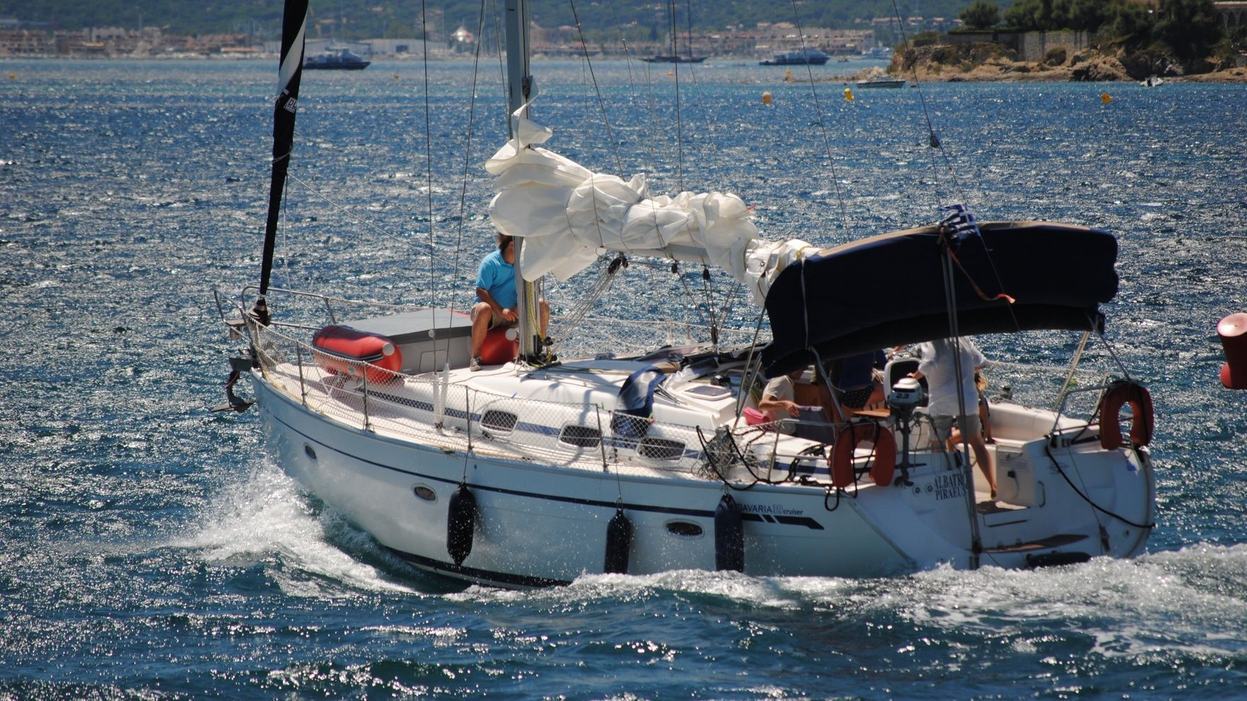 Поход на яхте: Свирь и Онега