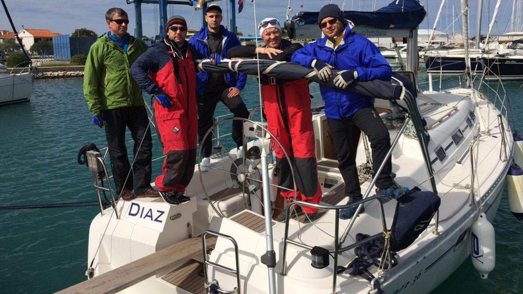 Apractical Day Skipper course inCroatia