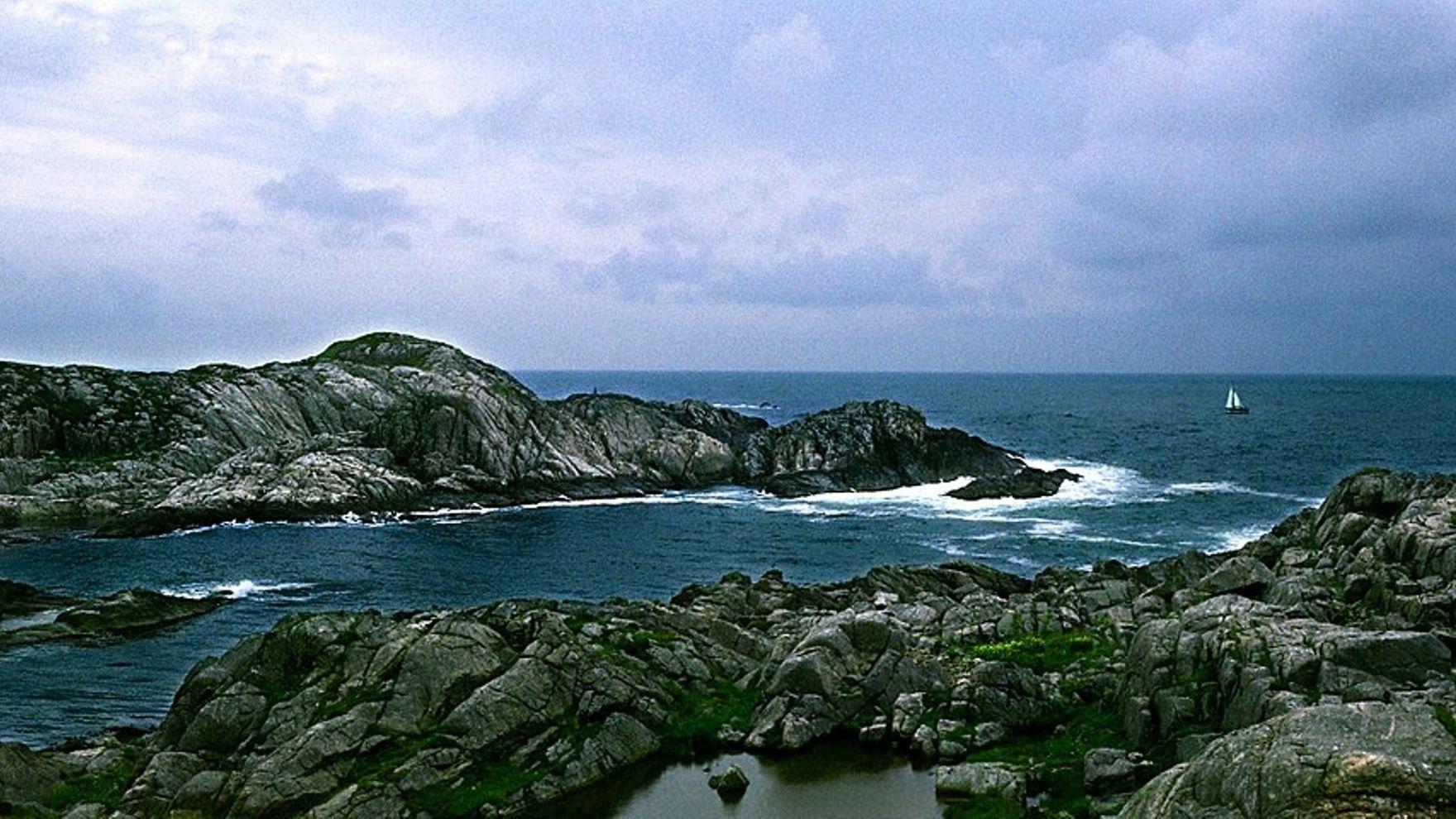Gothenburg - Stavanger. Skaggerak Strait