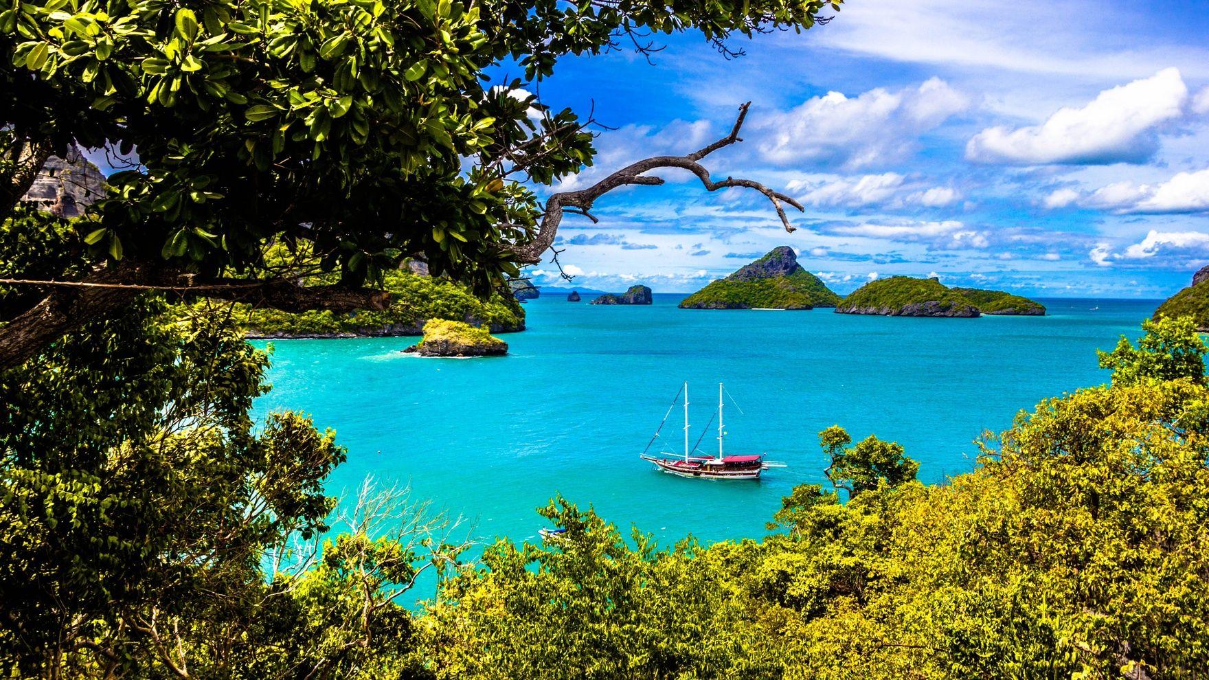 Путешествие на яхте в Таиланде