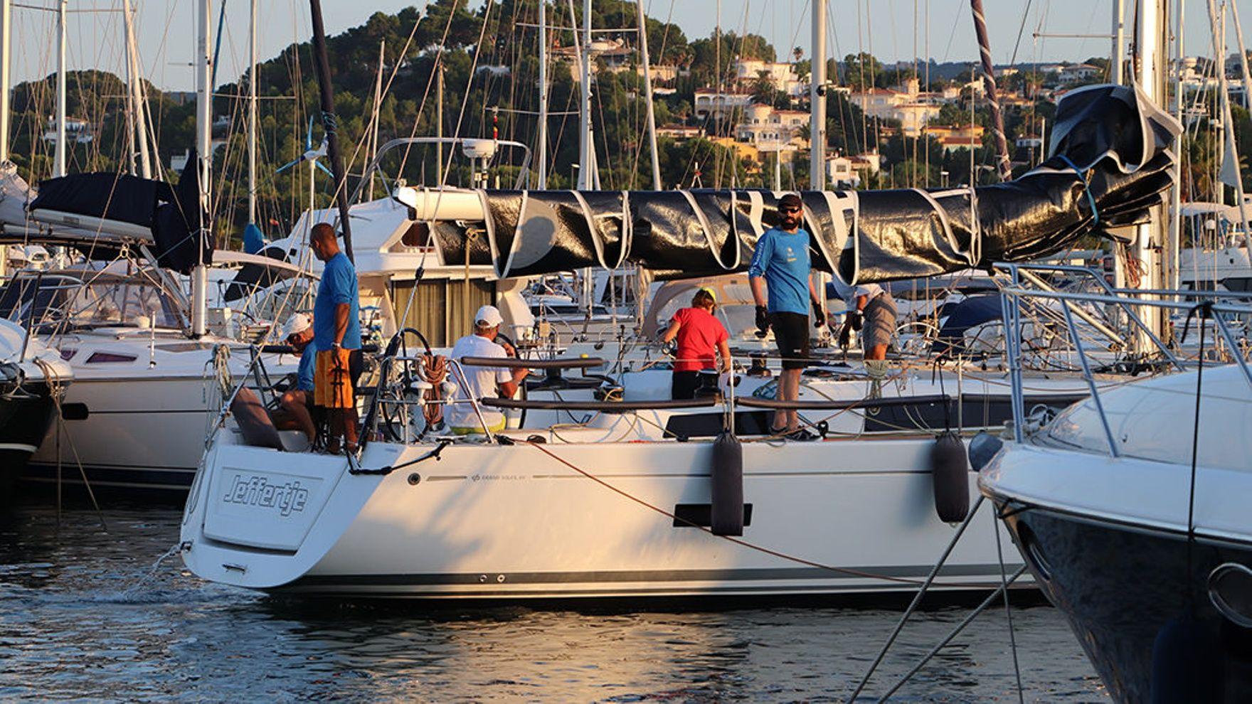 Copa del Canal regatta