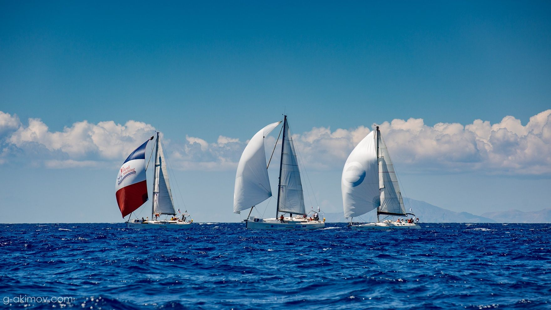 Russian sailing week Volvo 2020