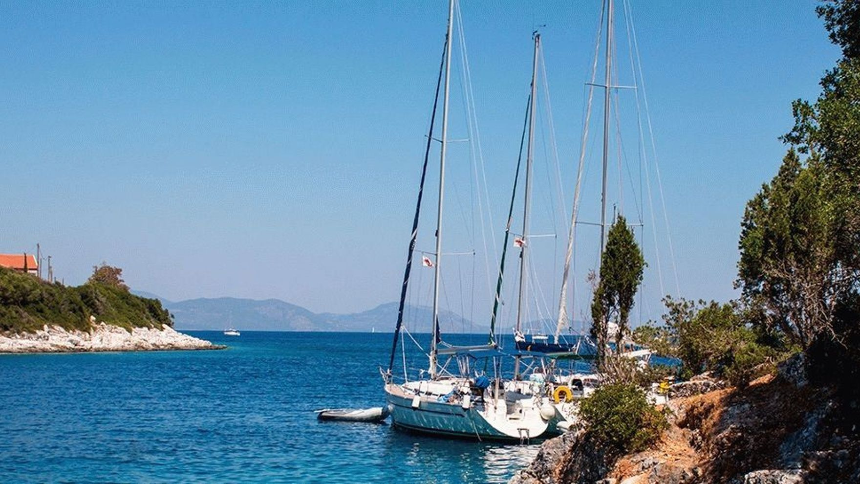 С ветром! В Грецию.