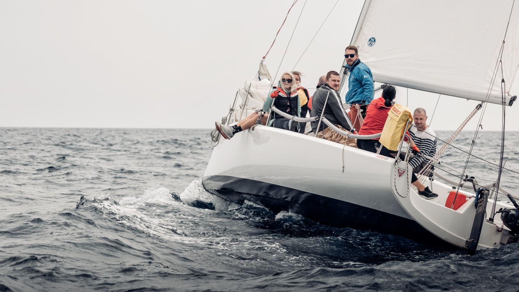 Четырехдневный курс по управлению парусной яхтой
