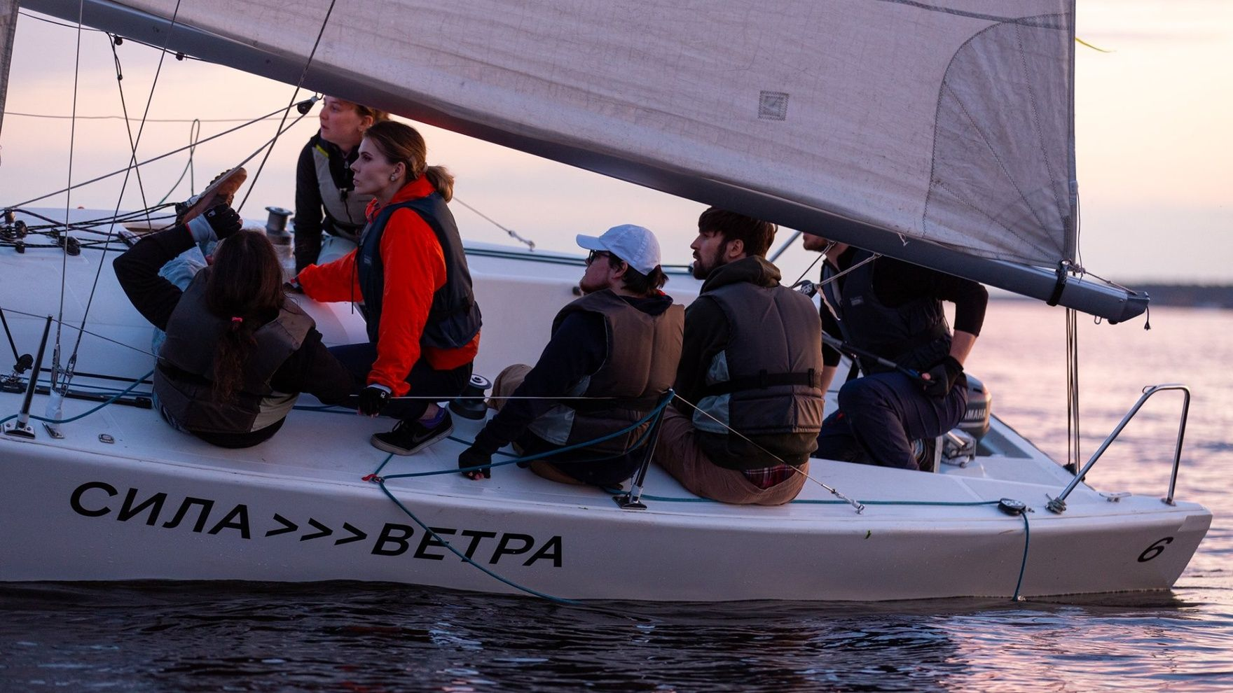 Sailing training in Saint Petersburg