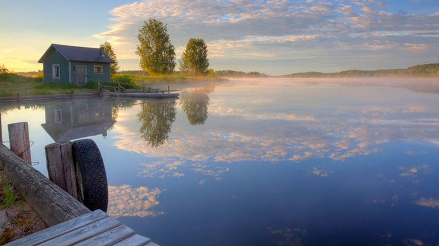 Морская практика по Сайменским озерам