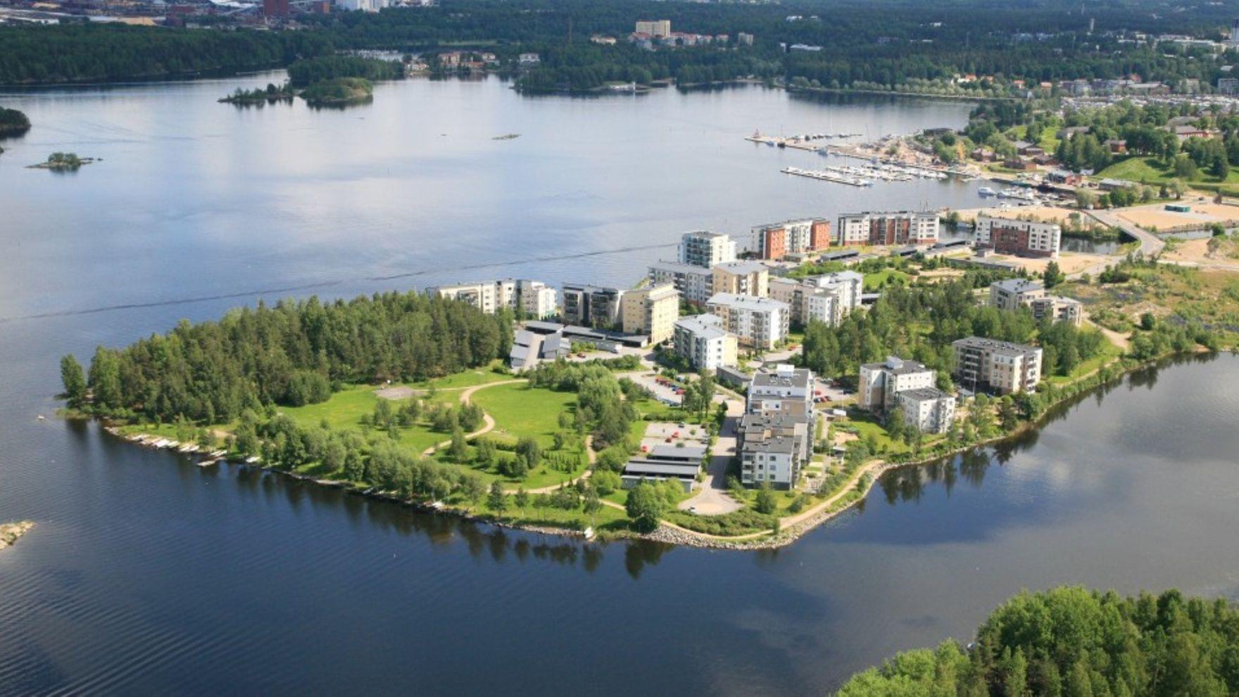 Mile building: Saimaa lakes