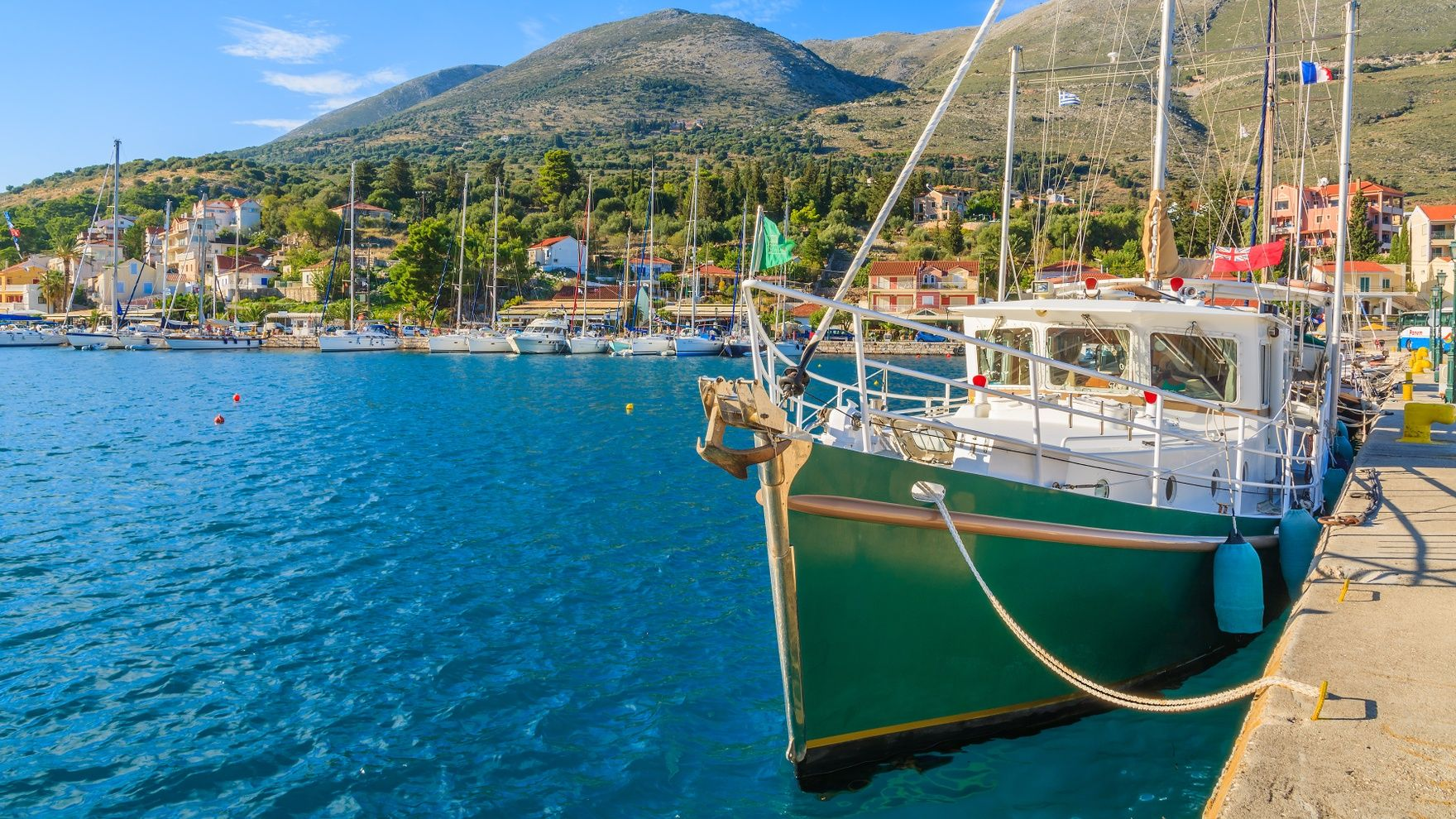The treasures of the Ionian Sea