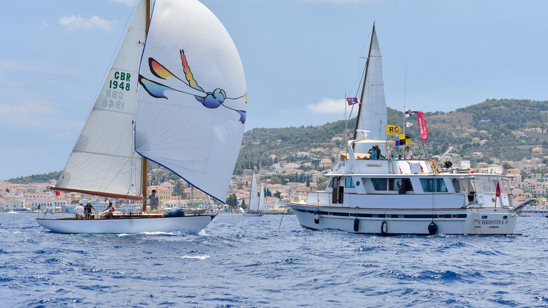 Регата Spetses Classic Yachts 2021