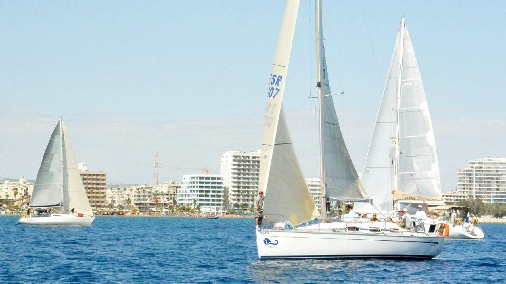 The Cyprus to Israel Offshore race