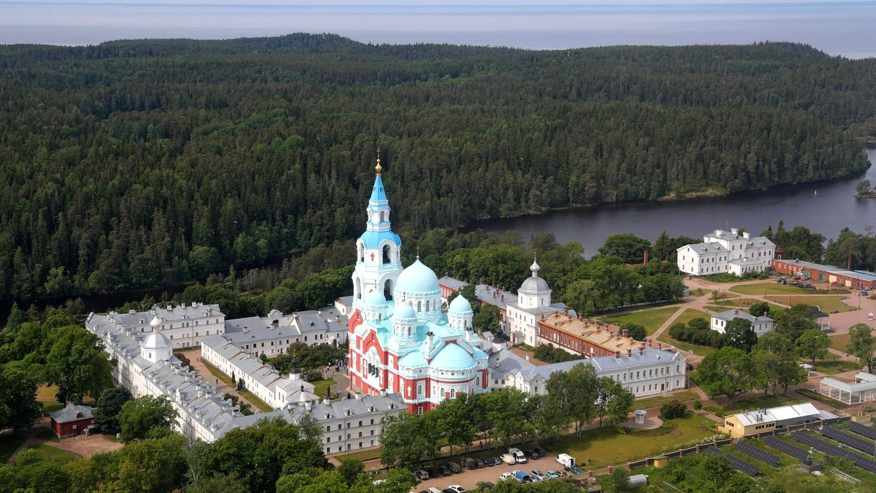 The expedition: Saint Petersburg - Ladoga