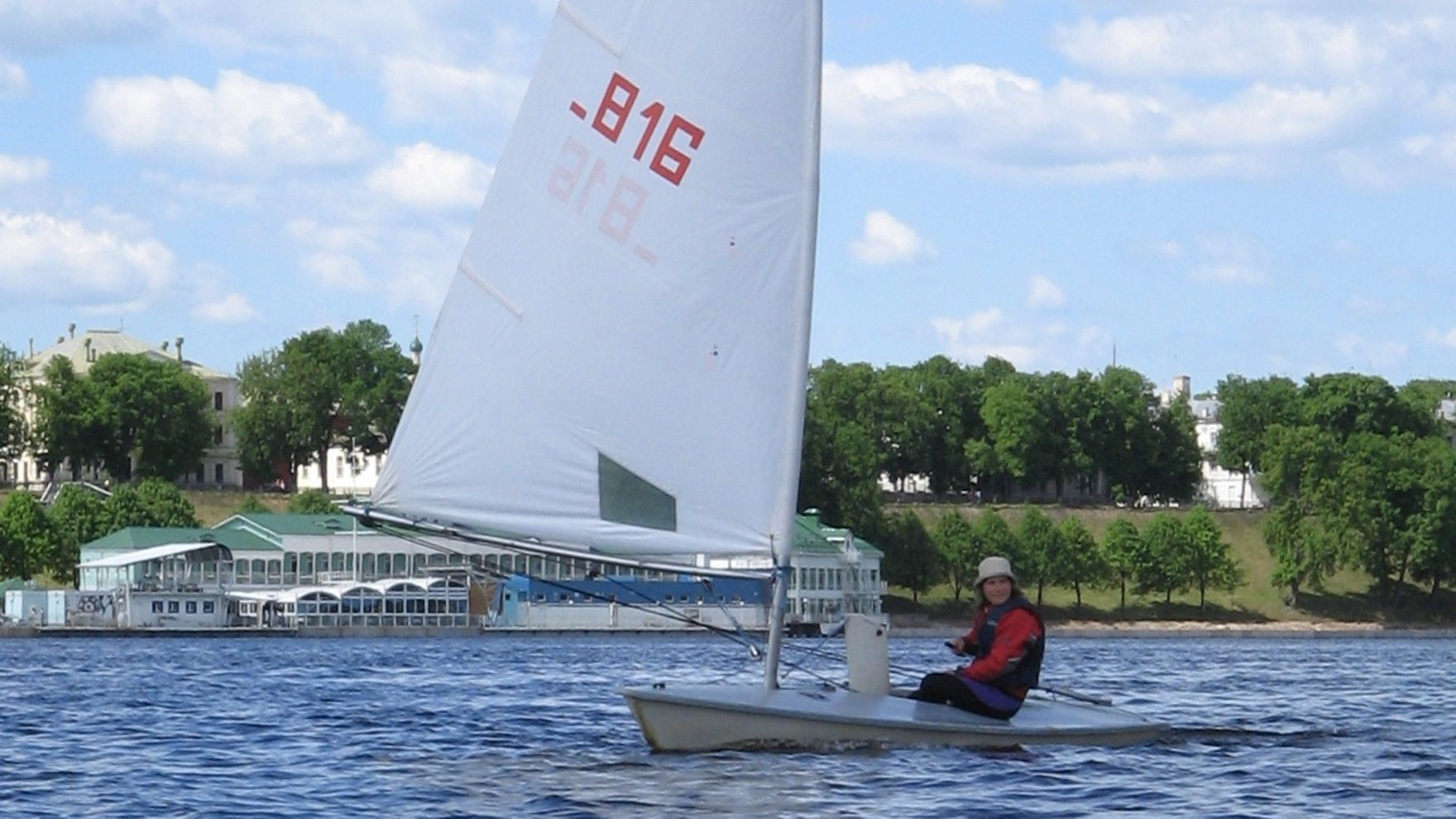 "Training sessions on ""Luch"" yachts in St. Petersburg"