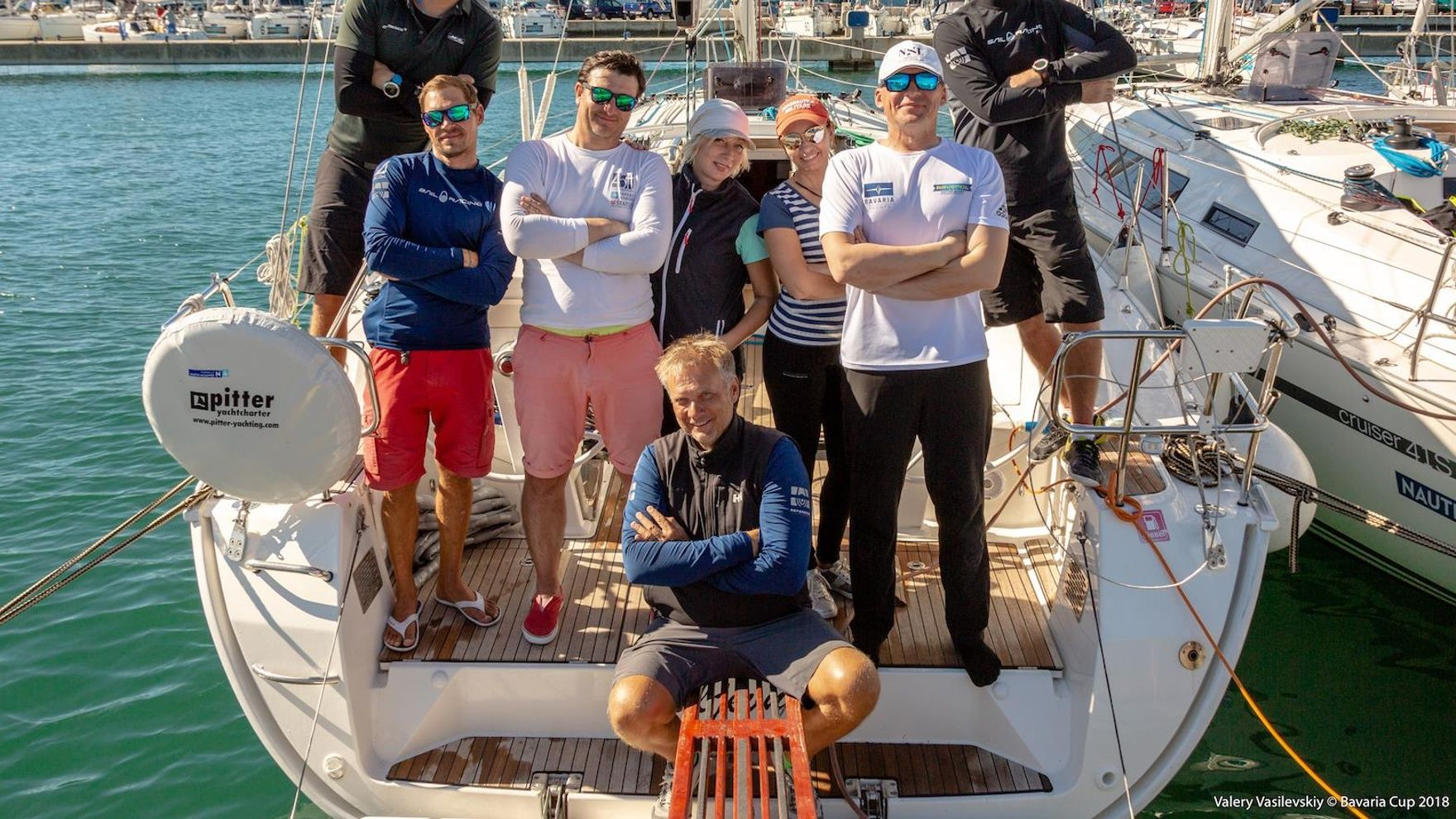 A training week +  «Coupe de ete» San Rafael regatta