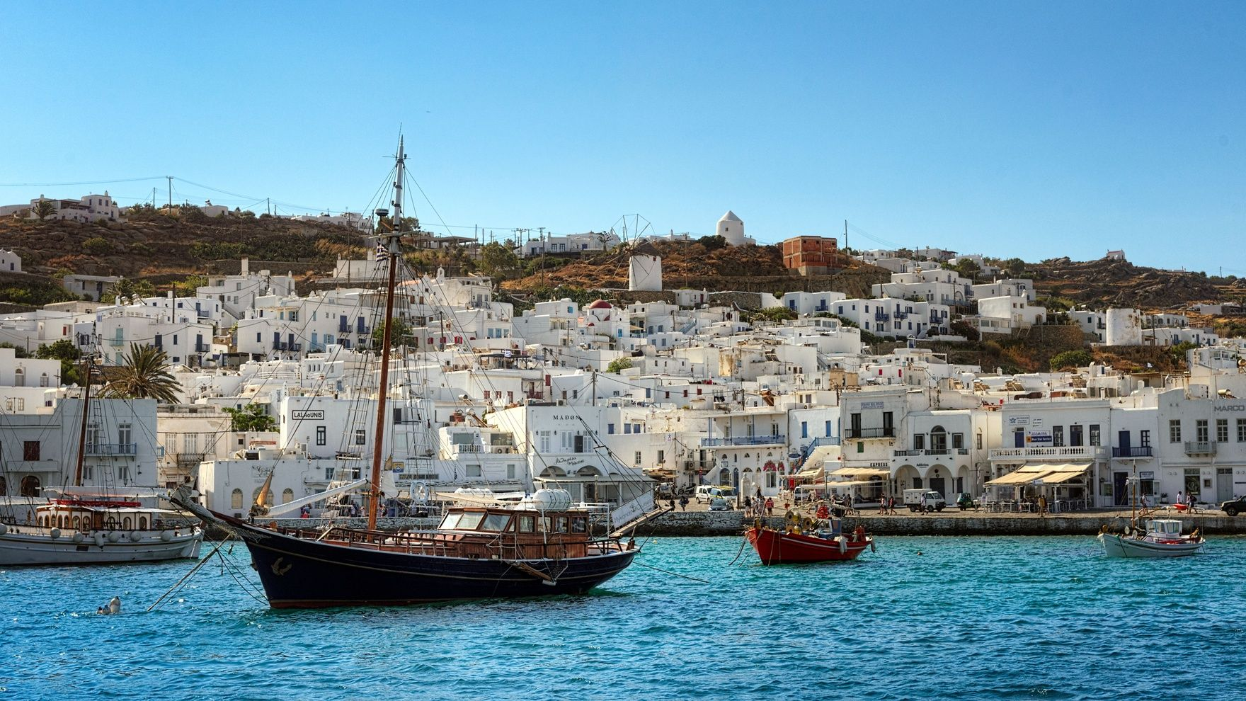 Turkish-Greek voyage: Bodrum— Mykonos— Fethiye