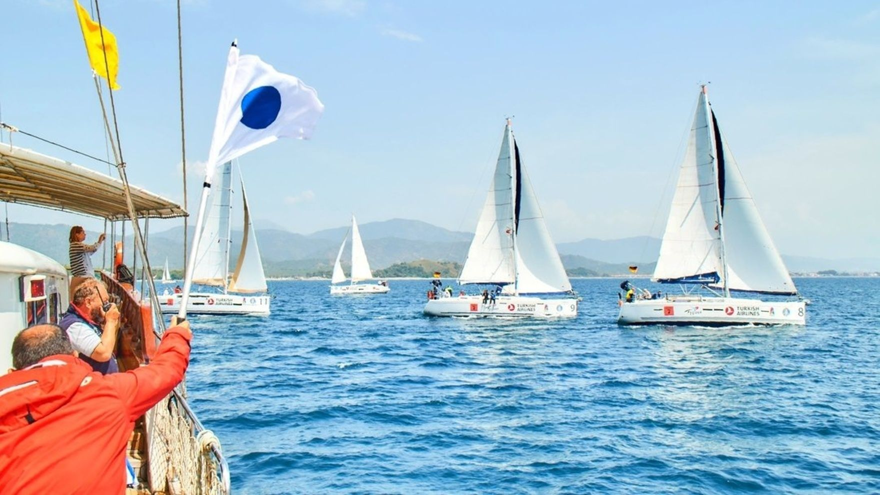 Training flotilla in Bodrum