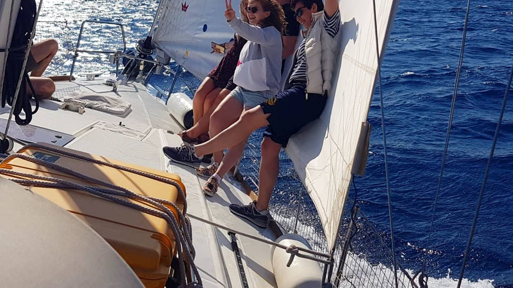 Day sailing in Limassol