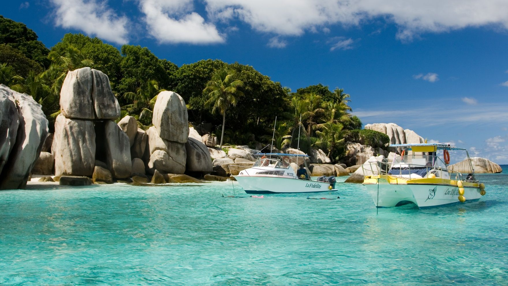Yachting in Seychelles