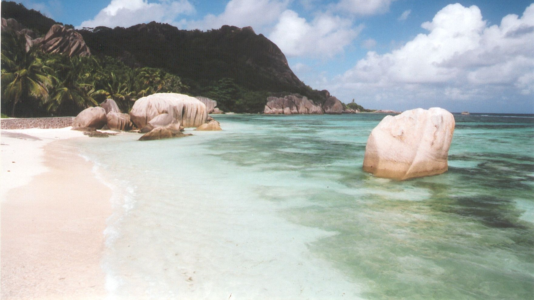 Sailing in Seychelles